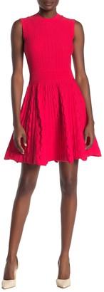 Ted Baker Kamylia Scallop Knit Skater Dress