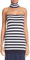 Michael Kors Women's Cashmere Tube Top & Collar