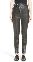 Alexander Wang Women's High Waist Leather Pants