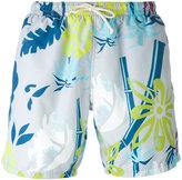 Drumohr printed swim shorts - men - Polyester - S