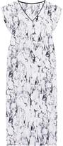 Lemlem Hana printed silk-chiffon kaftan
