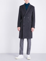 Tiger of Sweden Double-breasted wool-blend coat