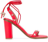 RED Valentino star studded sandals - women - Leather - 39.5