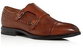 Kenneth Cole Men's Futurepods Leather Double Monkstrap Oxfords