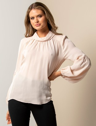 Ever New Imogen Crepe Blouse