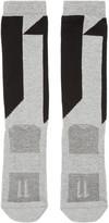 11 By Boris Bidjan Saberi Grey Logo Socks