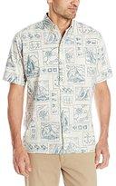 Reyn Spooner Men's Yachting Tapa Shirt