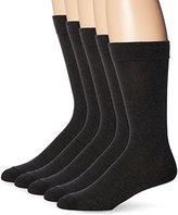 Dockers 5 Pack Classics Dress Flat Knit Crew Socks