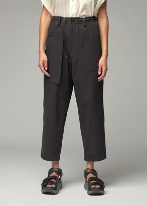 Y's by Yohji Yamamoto Women's Asymmetric Multi Pocket Pant in Black Size 2