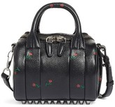 Alexander Wang Mini Rockie Rose Embossed Leather Satchel - None