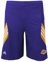 adidas Boys 8-20 Los Angeles Lakers Prestige Shorts