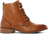 Dune Quincey leather lace-up boots