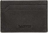Lanvin Black Leather Card Holder