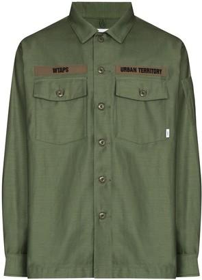 WTAPS Military-Style Long-Sleeve Shirt