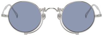 Matsuda Silver and Blue 10601H Sunglasses