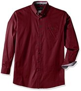 Wrangler Men's Big and Tall George Strait One Pocket Long Sleeve Woven Shirt