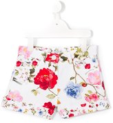 MonnaLisa floral print shorts - kids - Cotton/Polyester/Spandex/Elastane - 2 yrs