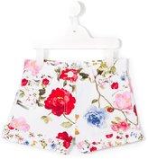 MonnaLisa floral print shorts