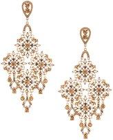 Natasha Accessories Faux-Crystal Chandelier Statement Earrings