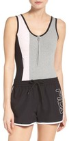 Fila Women's Viviana Quarter Zip Bodysuit