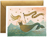 Rifle Paper Co. Mermaid Thank You Greeting Card
