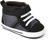 Carter's Black High Top Shoes - Boys 3m-12m