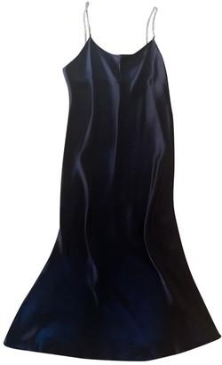 Michael Lo Sordo Black Silk Dress for Women