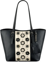 Nine West Ava Floral Applique Tote