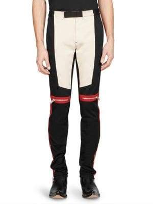 Givenchy Motocross Biker Pants
