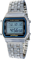 JCPenney ZUNAMMY Zunammy Silver/Blue Digital Bracelet Watch