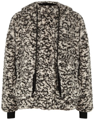 Varley Montalvo Printed Faux Shearling Jacket