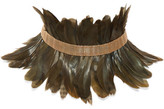 Rosantica Selva Gold-tone Feather Choker