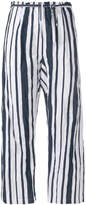 Ter Et Bantine striped cropped trousers