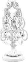Tadpoles White Mini Chandelier Table Lamp