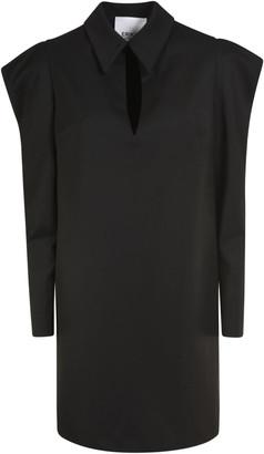 Erika Cavallini Long-Sleeve Short Dress