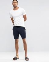 Asos Loungewear Shorts In Navy