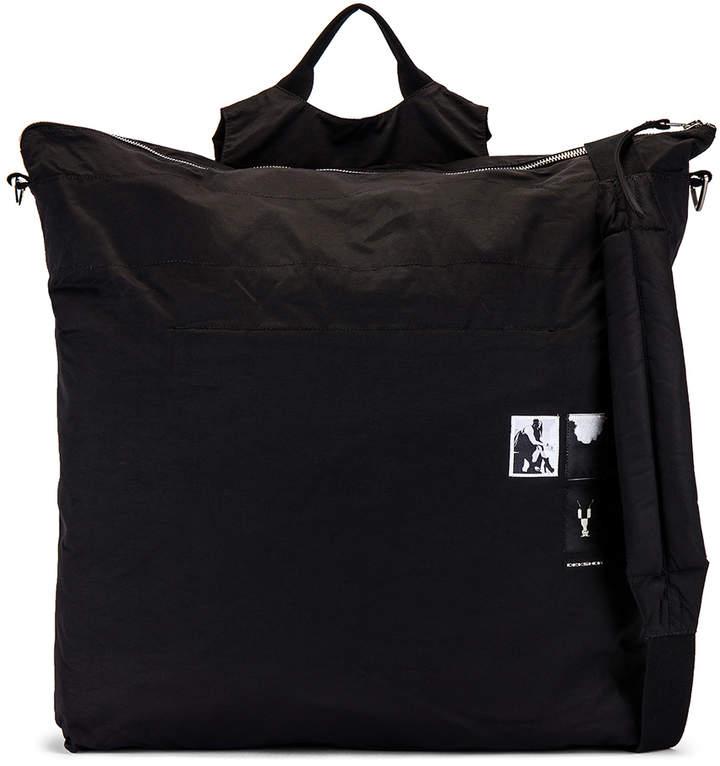 Rick Owens Beach Bag Backpack in Black | FWRD