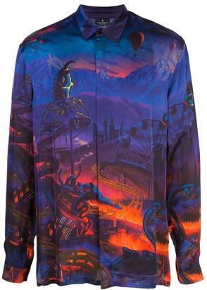 Marcelo Burlon County of Milan Fantasy all-over print shirt