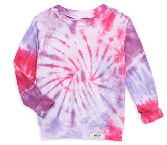 Worthy Threads Baby's & Little Kid's Tie-Dye Raglan Sweatshirt