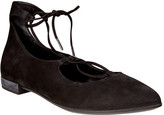 Ecco Women's Shape Tie Up Ballerina Flat