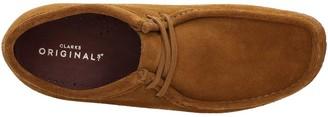 Clarks Originals Suede Wallabee Shoes - Cola