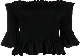 Patrizia Pepe Off-Shoulder Blouse