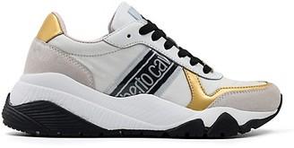 Roberto Cavalli Sport Metallic Mix Media Chunky Sneakers