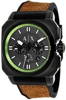 Giorgio Armani Exchange Takedown AX1652 Men's Black Ion-Plated Stainless Steel Chronograph Watch