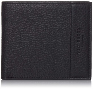 Ted Baker Men's MXW-CARABAS-XC9M-leather Bifold with Coin