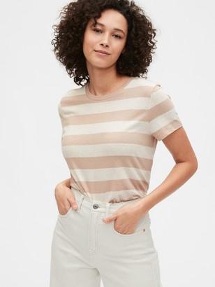 Gap Shrunken Striped Short Sleeve T-Shirt