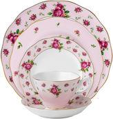Royal Albert Pink Vintage 5-pc. Bone China Dinnerware Set