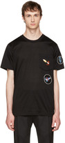 Lanvin Black Patchwork T-Shirt