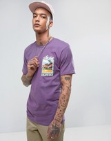 Stussy T-Shirt With Love And Hate Print