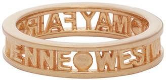 Vivienne Westwood Rose Gold Westminster Ring